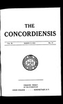 The Concordiensis, Volume 36, No 17 by Federick S. Harris