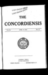 The Concordiensis, Volume 36, No 20