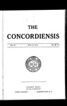 The Concordiensis, Volume 36, No 26 by Herman H. Hitchcock