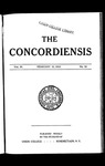 The Concordiensis, Volume 36, No 14