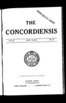 The Concordiensis, Volume 36, No 19
