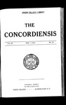 The Concordiensis, Volume 36, No 23 by Herman H. Hitchcock