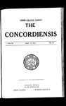 The Concordiensis, Volume 36, No 24 by Herman H. Hitchcock