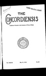 The Concordiensis, Volume 37, No 25