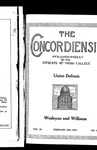 The Concordiensis, Volume 38, No 16 by H. J. Delchamps