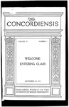 The Concordiensis, Volume 39, No 1 by Richard E. Taylor