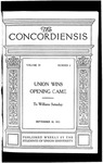 The Concordiensis, Volume 39, No 2