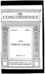 The Concordiensis, Volume 39, No 3 by Richard E. Taylor