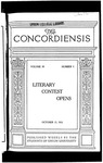 The Concordiensis, Volume 39, No 4 by Richard E. Taylor