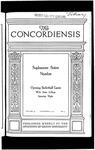 The Concordiensis, Volume 39, No 9