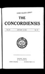 The Concordiensis, Volume 35, No 10 by Frederick S. Harris