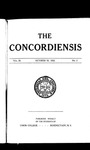 The Concordiensis, Volume 36, No 2 by Frederick S. Harris