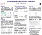 Group Theoretic Matrix Multiplication