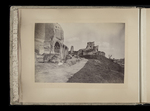View of the upper part of the Severan complex on the Palatine hill. by William James Stillman