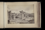 View of the Forum, from the Capitoline by William James Stillman