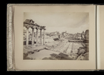 View of the Forum, from the Capitoline hill by William James Stillman
