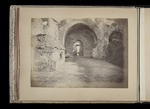 View of arches beneath the Severan complex on the Palatine hill by William James Stillman