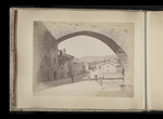 View of an arch over a street