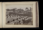 View of the forum, toward the Basilica of Maxentius and Constantine