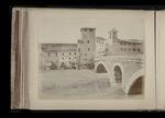 View of the Ponte Fabricio, Rome