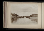 View of the Tiber from the Lungotevere Aventino, toward Trastevere