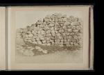 Rugged masonry wall, probably Tiryns or Mycenae