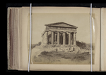 View of the east side of the Temple of Concord, Agrigento, Sicily