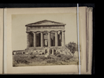 View of the east façade of the Temple of Concord, Agrigento, Sicily