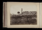 View of ruins, possibly the Temple of Jupiter