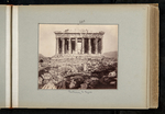 28a. Parthenon W. façade by William James Stillman