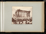 42. Parthenon showing rejected drums of columns by William James Stillman