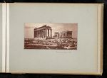 [46] Parthenon from N. E. by William James Stillman