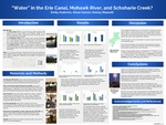 """Water"" in the Erie Canal, Mohawk River, and Schoharie Creek? by Emily Andrews, Alexa Caruso, and Kelsey Masselli"